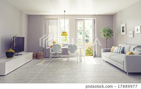 modern interior 17889977