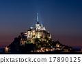 (프랑스) 몽생 미셸의 야경 17890125
