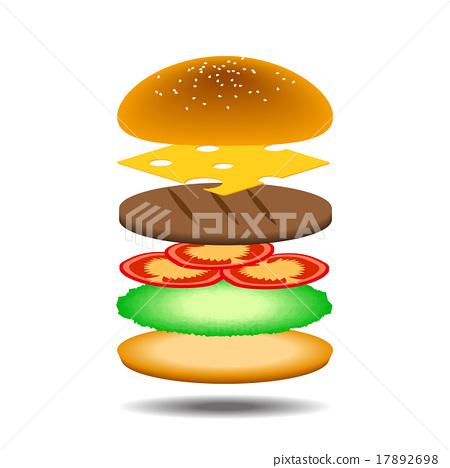 Burger 17892698