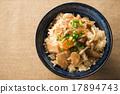 煮雜燴飯 雞肉 食品 17894743