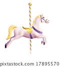 Carousel Horse Realistic 17895570