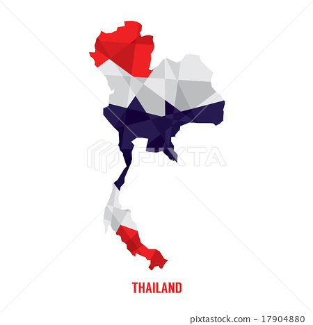 Map of Thailand Vector Illustration. 17904880