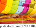 colorful hot air balloon 17913386