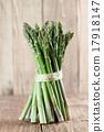 หน่อไม้ฝรั่ง,สีเขียว,เขียว 17918147