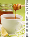 Honey tea with lemon 17918608