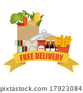 delivery food 17923084