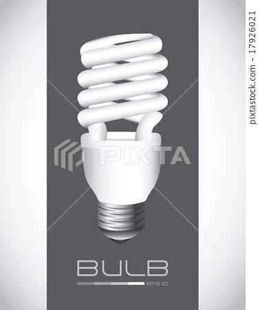 bulb design over gray background vector illustration 17926021