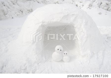 Kamakura snowman 17927100