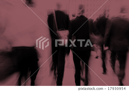 Business People Commuter Cityscape Rush Hour Concept 17930954