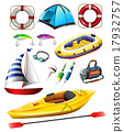 Fishing equipments and boats 17932757