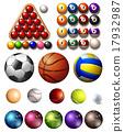 球 运动 矢量 17932987