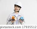 女性 工服 安全帽 17935512