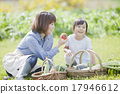 parenthood, parent and child, kitchen garden 17946612