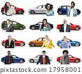 Car Vehicle Transportation 3D Illustration Concept 17958001
