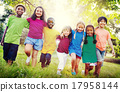 Children Friendship Togetherness Smiling Happiness Concept 17958144