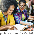 Diverse People Studying Students Campus Concept 17958340