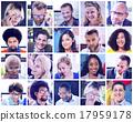collage, diverse, faces 17959178