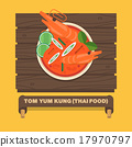 Thailand's national dishes,Thai spicy soup 17970797