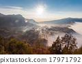 日出 山峰 雾 17971792