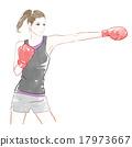 包裝 拳擊 拳打 17973667