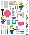 Set of kitchen tools 17977895