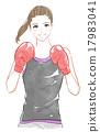 包裝 拳擊 手套 17983041