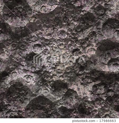 Seamless alien planet surface 17986663