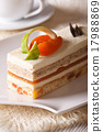 cake, apricot, cheese 17988869