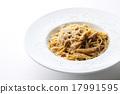 意大利面 美味牛肝菌 細意大利面 17991595