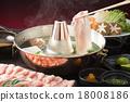 涮涮鍋 豬肉涮涮鍋 里肌肉 18008186