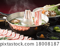 涮涮鍋 豬肉涮涮鍋 豬肋排 18008187