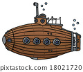 Funny old wooden submarine 18021720