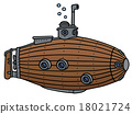 Funny old wooden submarine 18021724