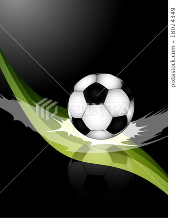 Soccer ball illustration 18024349