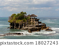 Tanah Lot Temple on Sea in Bali Island Indonesia 18027243