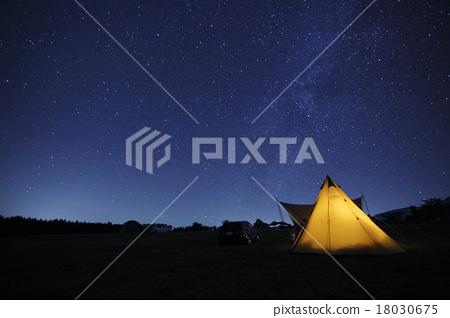 캠프의 밤하늘 18030675