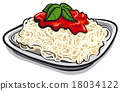 spaghetti pasta 18034122