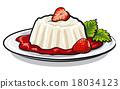 strawberry dessert 18034123