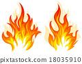 矢量 矢量图 火焰 18035910