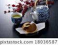 茶 日本茶 日式甜點 18036587