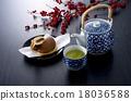 茶 日本茶 日式甜點 18036588