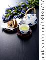 茶 日本茶 日式甜點 18036747