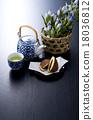 茶 日本茶 日式甜點 18036812