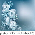 2016 New Year Christmas Background 18042321