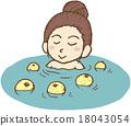公交車間隔時間 熱鋅浴 沐浴 18043054