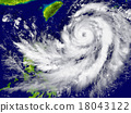 Hurricane approaching Southeast Asia 18043122