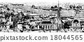 Panoramic view of Paris 18044565