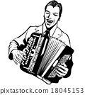 Accordion player 18045153