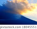 Mt. Fuji at dusk 18045551
