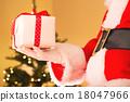 圣诞老人 圣诞老公公 礼物 18047966